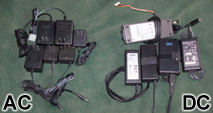 AC wall transformers and DC switching power supplies