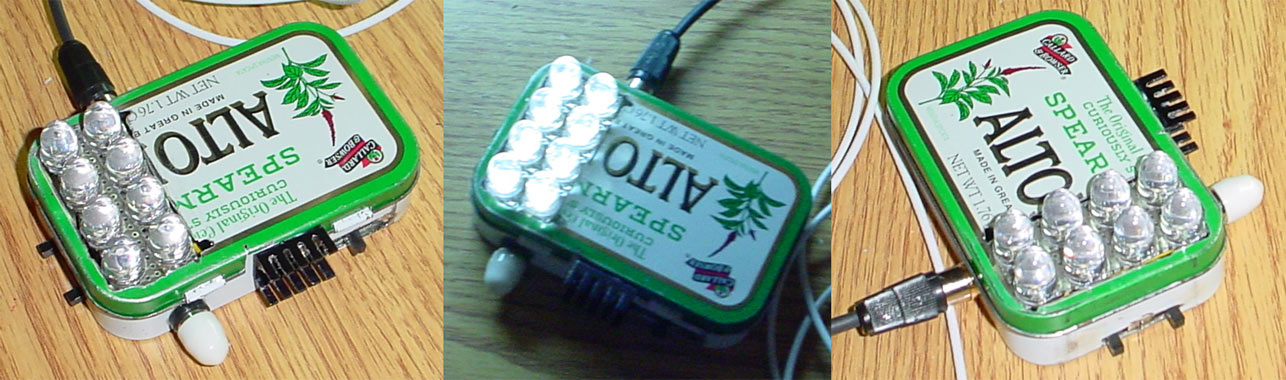 Altoids Battery